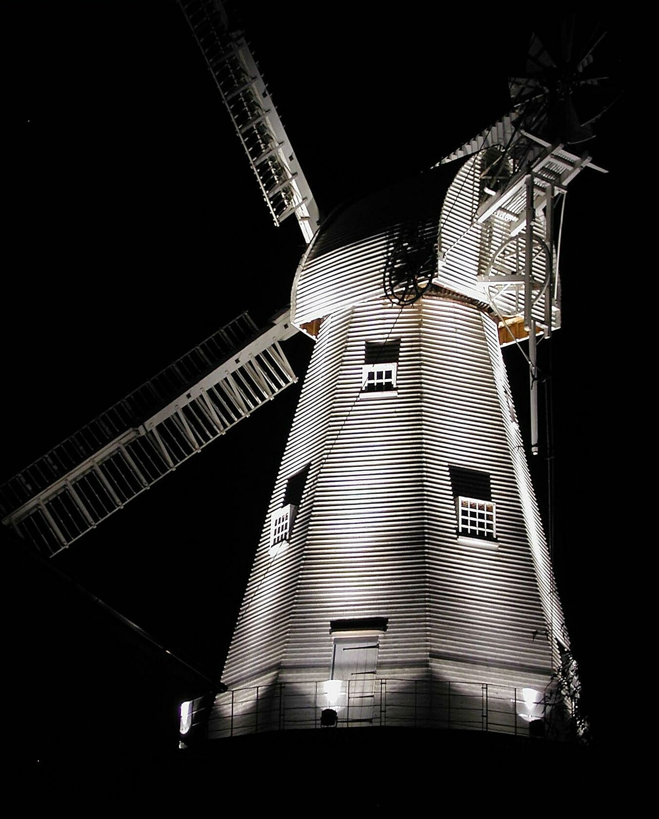 Mill Floodlit